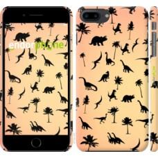 Чехол для iPhone 8 Plus Динозаврики 1 4772m-1032