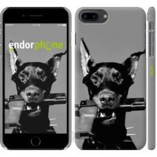 Чехол для iPhone 8 Plus Доберман 2745m-1032