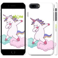 Чехол для iPhone 8 Plus Единорог 4702m-1032
