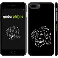 Чехол для iPhone 8 Plus Эйнштейн 4759m-1032