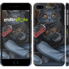 Чехол для iPhone 8 Plus gamer cat 4140m-1032