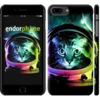 Чехол для iPhone 8 Plus Кот-астронавт 4154m-1032
