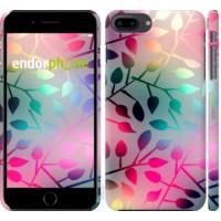 Чехол для iPhone 8 Plus Листья 2235m-1032