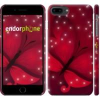Чехол для iPhone 8 Plus Лунная бабочка 1663m-1032