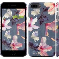 Чехол для iPhone 8 Plus Нарисованные цветы 2714m-1032