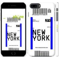 Чехол для iPhone 8 Plus New York 4861m-1032