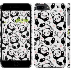Чехол для iPhone 8 Plus Панды 4318m-1032