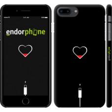 Чехол для iPhone 8 Plus Подзарядка сердца 4274m-1032