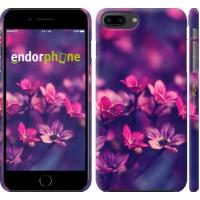 Чехол для iPhone 8 Plus Пурпурные цветы 2719m-1032