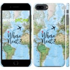 Чехол для iPhone 8 Plus Путешествие 4503m-1032