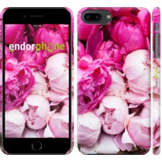 Чехол для iPhone 8 Plus Розовые пионы 2747m-1032
