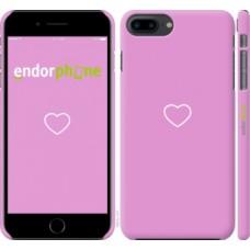 Чехол для iPhone 8 Plus Сердце 2 4863m-1032