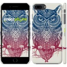 Чехол для iPhone 8 Plus Сова 2 2726m-1032