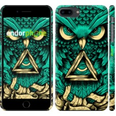 Чехол для iPhone 8 Plus Сова Арт-тату 3971m-1032