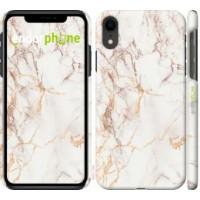 Чехол для iPhone XR Белый мрамор 3847c-1560