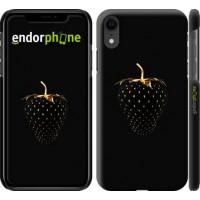 Чехол для iPhone XR Черная клубника 3585c-1560