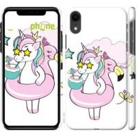 Чехол для iPhone XR Crown Unicorn 4660c-1560