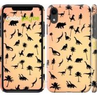 Чехол для iPhone XR Динозаврики 1 4772c-1560