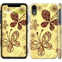 Чехол для iPhone XR Красивые бабочки 4170c-1560