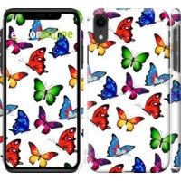 Чехол для iPhone XR Красочные мотыльки 4761c-1560