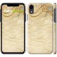 Чехол для iPhone XR Кружевной орнамент 2160c-1560