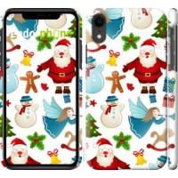 Чехол для iPhone XR Новогодний 1 4614c-1560