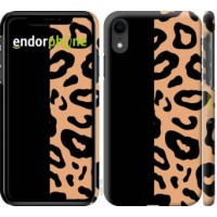 Чехол для iPhone XR Пятна леопарда 4269c-1560