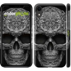 Чехол для iPhone XR skull-ornament 4101c-1560