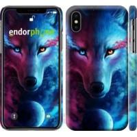 Чехол для iPhone XS Арт-волк 3999m-1583