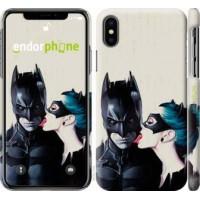 Чехол для iPhone XS Бэтмен 4678m-1583