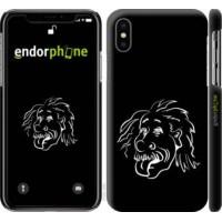 Чехол для iPhone XS Эйнштейн 4759m-1583