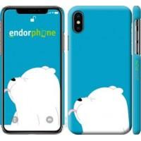Чехол для iPhone XS Мишка 1 4358m-1583