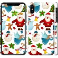 Чехол для iPhone XS Новогодний 1 4614m-1583