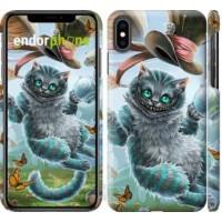 Чехол для iPhone XS Max Чеширский кот 2 3993m-1557