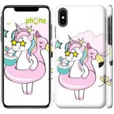 Чехол для iPhone XS Max Crown Unicorn 4660m-1557