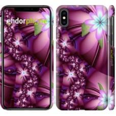 Чехол для iPhone XS Max Цветочная мозаика 1961m-1557