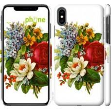 Чехол для iPhone XS Max Цветы 2 4760m-1557