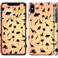 Чехол для iPhone XS Max Динозаврики 1 4772m-1557