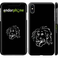 Чехол для iPhone XS Max Эйнштейн 4759m-1557