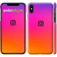 Чехол для iPhone XS Max Instagram 4273m-1557