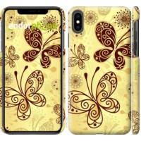 Чехол для iPhone XS Max Красивые бабочки 4170m-1557