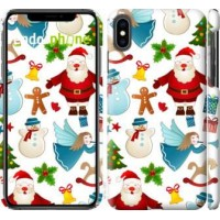 Чехол для iPhone XS Max Новогодний 1 4614m-1557