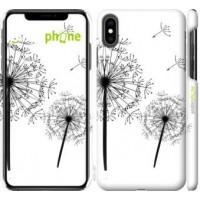 Чехол для iPhone XS Max Одуванчики 4642m-1557