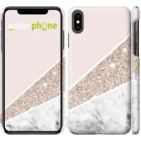 Чехол для iPhone XS Max Пастельный мрамор 4342m-1557