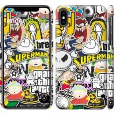 Чехол для iPhone XS Max Popular logos 4023m-1557
