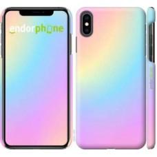 Чехол для iPhone XS Max Радуга 2 2920m-1557