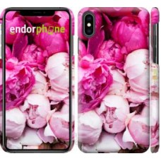 Чехол для iPhone XS Max Розовые пионы 2747m-1557