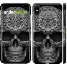 Чехол для iPhone XS Max skull-ornament 4101m-1557