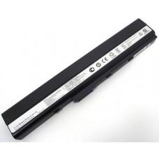 Батарея Asus A40, A42, A52, A62, B53, F85, K42, K52, K62, A32-N82, A42-K52, 10,8V 5200mAh Black (A32-K52)