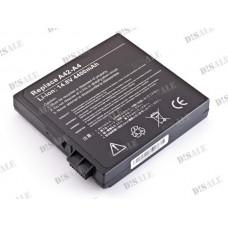 Батарея Asus A4, A4000, A42-A4, 14,8V 4400mAh Black (A4)